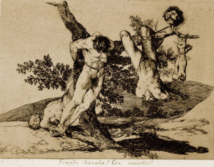 "Francisco Goya ""The Disasters of War"" plate 39 (1812)"