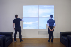 Douglas Bagnall Cloud Shape Classifier (2006) installed at the DPAG 2013